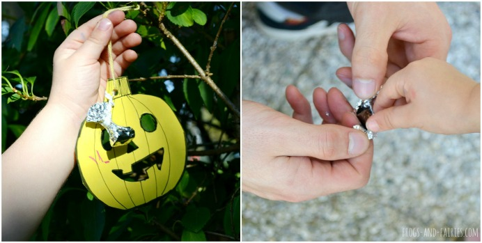 Halloween Pumpkin Scavenger Hunt