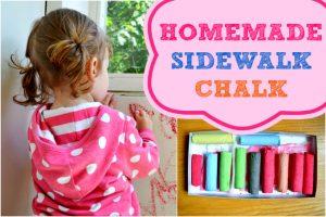 Homemade-Sidewalk-Chalk