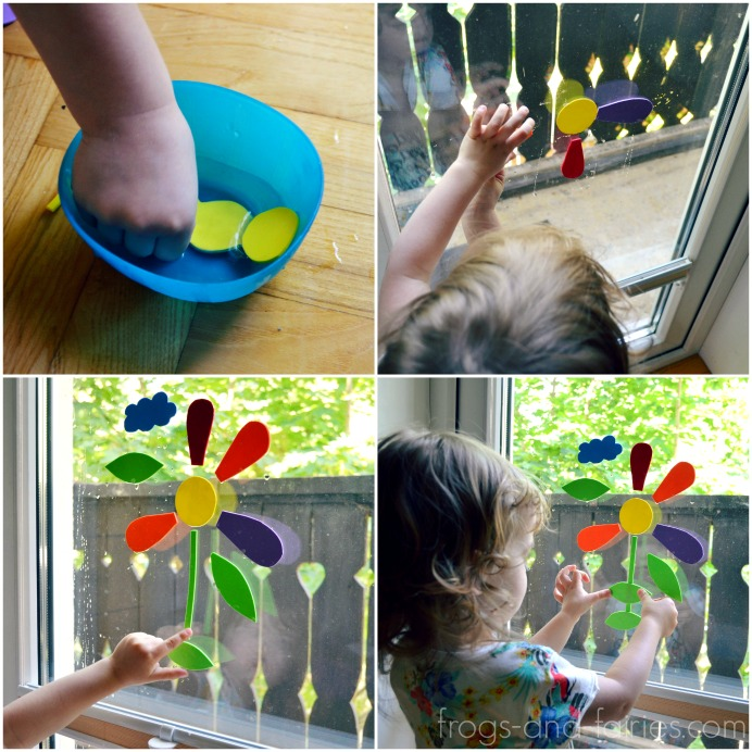 Craft Foam Window Puzzle