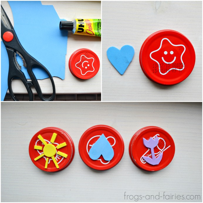 Simple Craft Foam Stamps