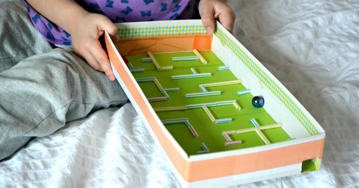 Diy Marble Maze Frogs And Fairies