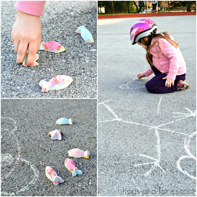 Color Changing Sidewalk Chalk