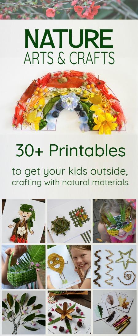 Nature Arts & Crafts Printables