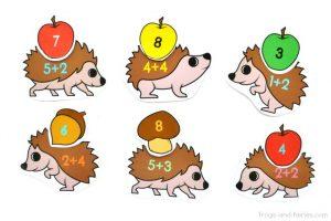 Hedgehog-Addition-to-10-Match-head