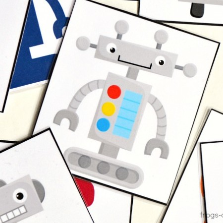 Robots-Shadow-Matching-Cards-head-3