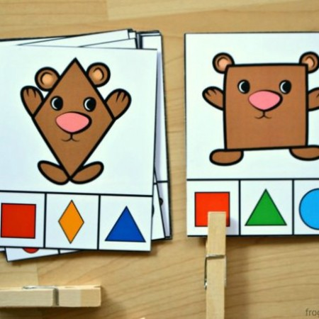 Bear-Shape-Clip-Cards-h