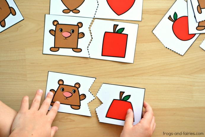 Bear-and-Apple-Shape-Puzzles-3m