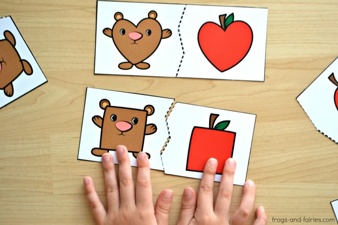 Bear-and-Apple-Shape-Puzzles-4m