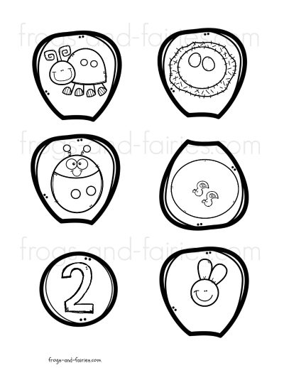 Build a Flower Number Match Printable Activity