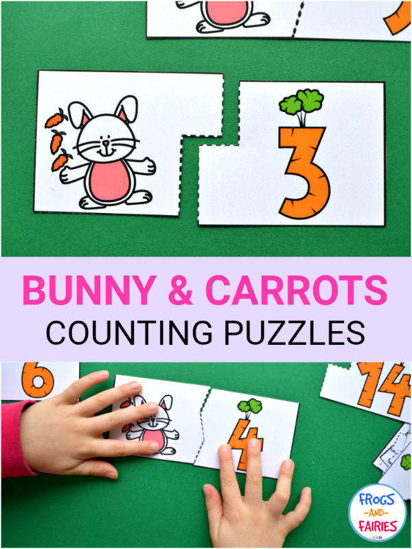 Bunny and Carrots Counting Puzzles