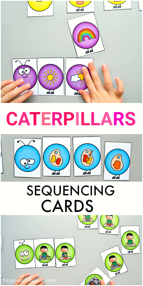 Caterpillar Sequencing Cards