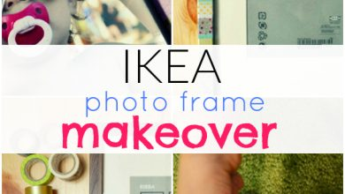 Photo of IKEA Photo Frame Makeover {With Washi Sticky tapes}