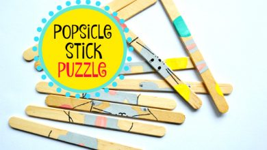 Photo of Popsicle Stick Puzzle
