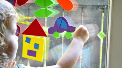 Photo of Craft Foam Window Puzzle
