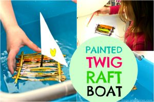 Painted-Twig-Raft-Boat-head