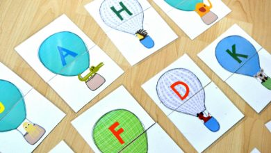 Photo of Hot Air Balloons and Animals – Beginning Letter Sound Match