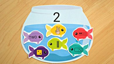 Photo of Fish and Fishbowls Number Match