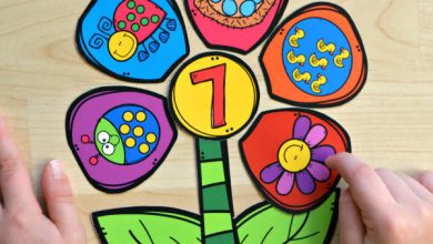 Photo of Build a Flower Number Match