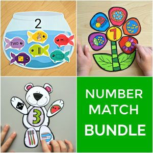 Number Match Bundle