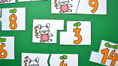 Photo of Bunny and Carrots Counting Puzzles