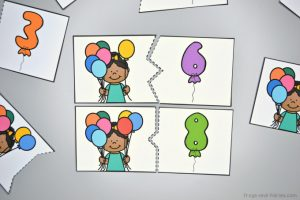 Balloon Counting Puzzles