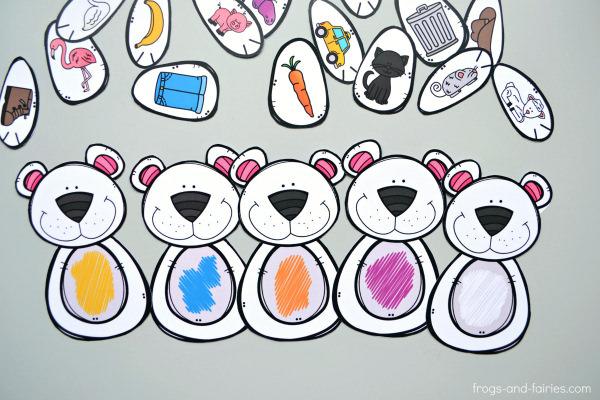 Build a Bear Color Match