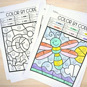 Color by Code - Emotions