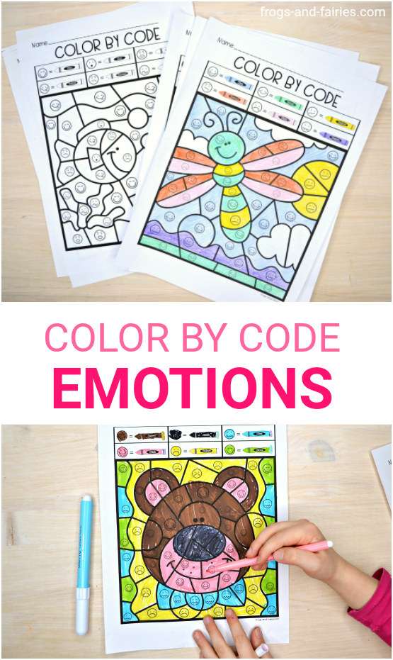 Color by Code Emotions