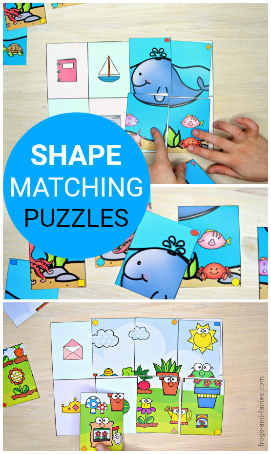 Shape Matching Puzzles