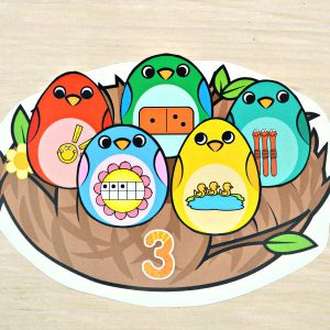 Bird Nest Number Match