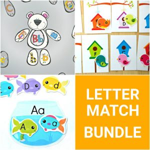 Letter Match Bundle