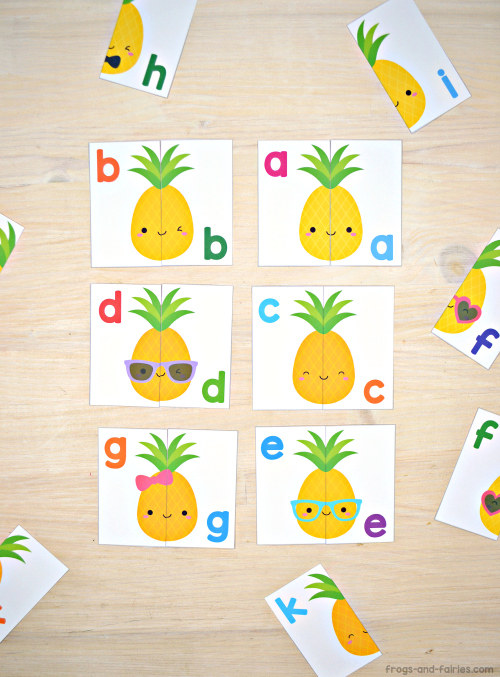 Pineapple Letter Match