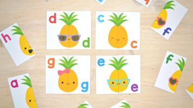 Photo of Pineapple Letter Match