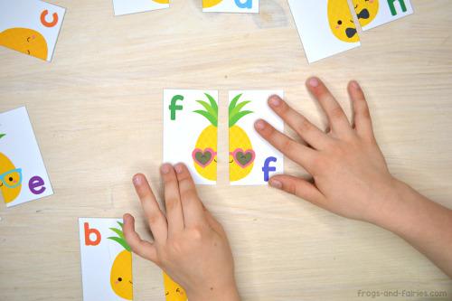 Pineapple Letter Match