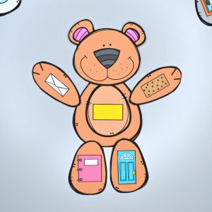 Build a Bear 2D Shape Match