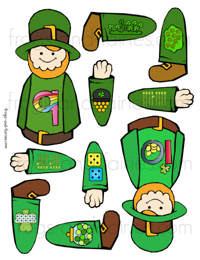 Build a Leprechaun Number Match