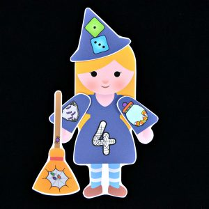 Build a Witch Number Match
