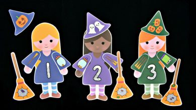 Photo of Build a Witch Number Match