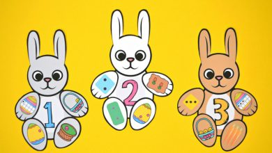 Photo of Build an Easter Bunny Number Match