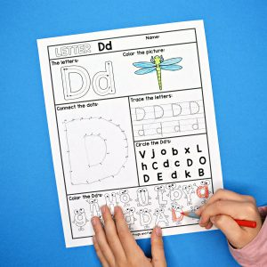 Alphabet Letter Worksheets A-Z