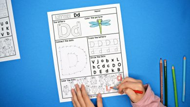 Photo of Alphabet Letter Worksheets A-Z
