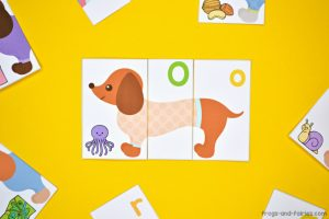 Dog Alphabet Puzzles - Letters & Letter Sounds