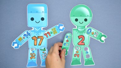 Photo of Build a Robot Addition Match