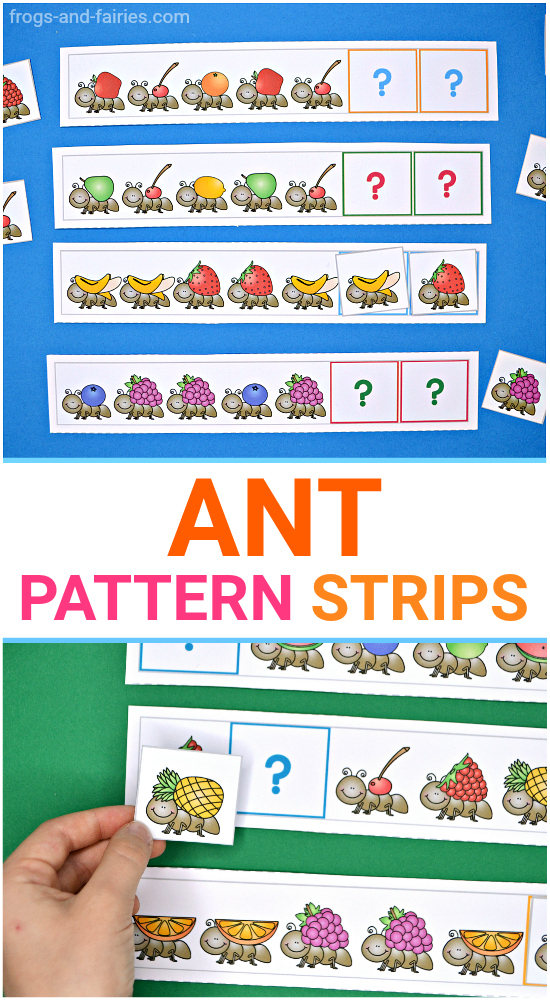Ant Pattern Strips - Patterns
