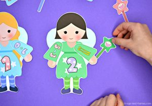 Build a Fairy Addition and Subtraction to 20 Match