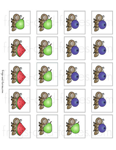 Ant Pattern Strips - Patterns
