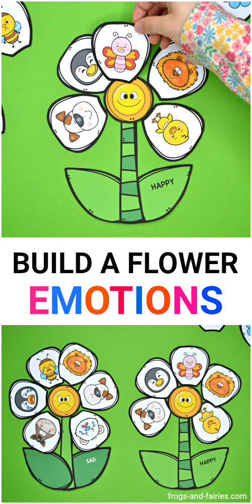 Build a Flower Emotions Match
