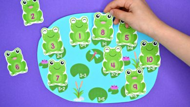 Photo of Frogs in the Pond Addition & Subtraction Match