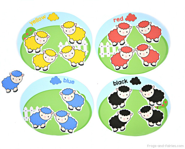 Sheep Color Match
