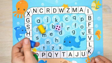 Photo of Ocean Letter Matching Board Game